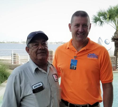 Alfredo Cedillo, Gardens, John Zendt, President & CEO  Alfredo has been with us for 30 years! Thank you for all you do.